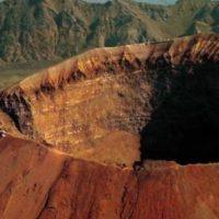 'Sul Vulcano' il cono del Vesuvio