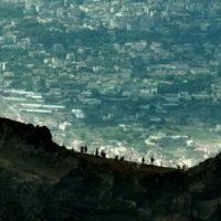 'Sul Vulcano' immagine dal Vesuvio
