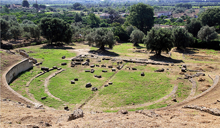 Teatro greco - romano Locri Epizefiri