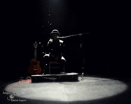 'Totò crooner' ph Sabrina Coppola