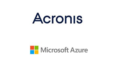 Acronis- MS Azure