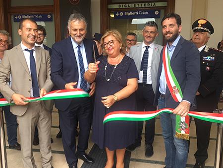 Inaugurazione nuova stazione Pistoia