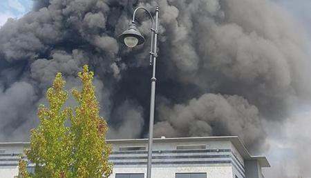 Incendio Pietrasanta (LU)