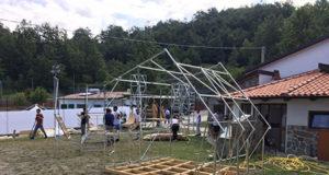 Montaggio strutture ODS - San Severino Lucano (PZ)