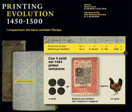 'Printing Revolution 1450-1500. I 50 anni che hanno cambiato l'Europa'
