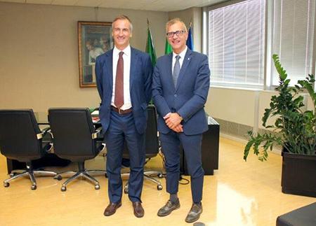 Alessandro Fermi e Mauro Zanin