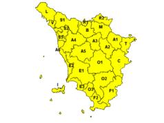 Codice giallo Toscana