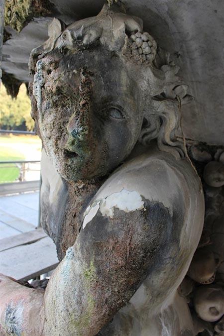 Dettaglio Fontana del Belvedere di Capodimonte