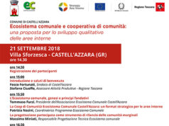 Ecosistema comunale e cooperativa di comunità: una proposta di sviluppo qualitativo delle aree interne'