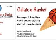 'Un gelato per il basket'