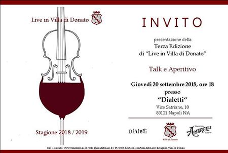 'Live Villa di Donato'