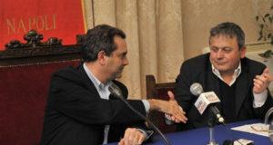 Luigi de Magistris e Sergio D'Angelo