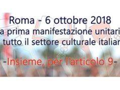 Manifestazione per la Cultura e il Lavoro