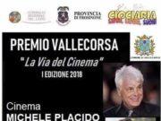 Premio Vallecorsa - 'La via del Cinema' I edizione