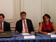 Vincenzo Moretta, Achille Coppola e Liliana Speranza