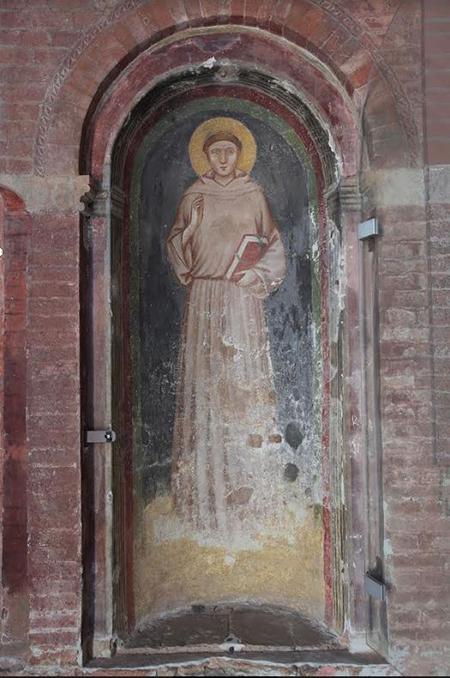 Affresco del Santo Basilica di S. Antonio da Padova