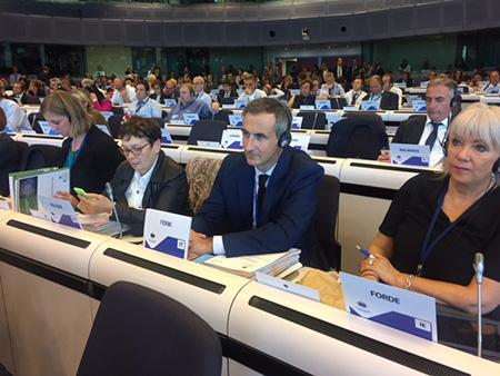 Alessandro Fermi al Comitato delle Regioni a Bruxelles