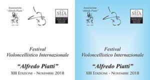 estival Violoncellistico internazionale 'Alfredo Piatti' 2018