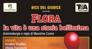 'Flora, la vita è una storia bellissima'