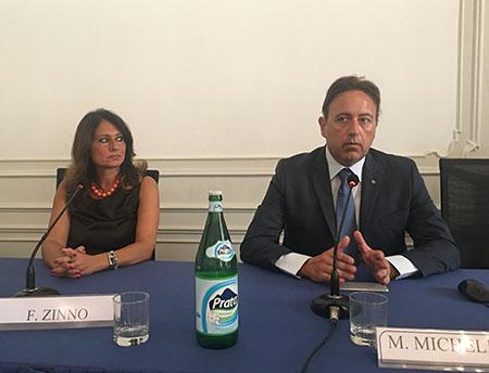 Fortuna Zinno e Mario Michelino