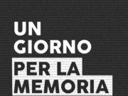 'Un giorno per la memoria' a cura di Anna Copertina