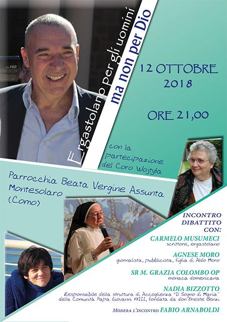 Incontro-dibattito Carmelo Musumeci