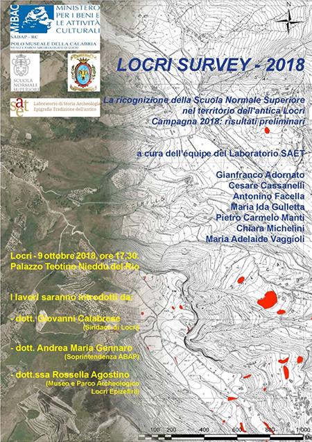'Locri Survey - 2018'