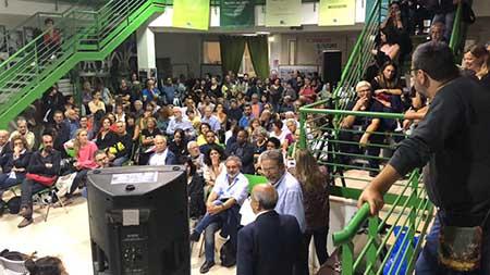 Manifestazione 'Riace – Catania – Roma. L'Italia che lotta per accogliere'