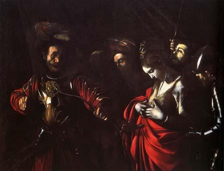 'Martirio di sant'Orsola' Michelangelo Merisi da Caravaggio