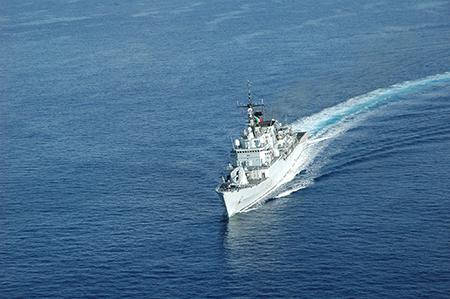 Nave Scirocco ph Marina Militare