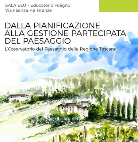 'Dalla pianificazione alla gestione partecipata del paesaggio'