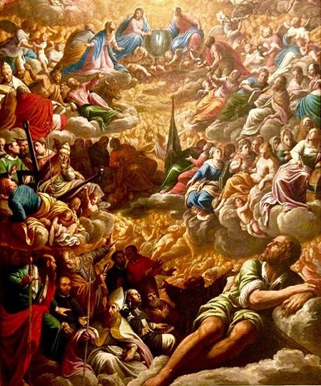 'Il Paradiso' Marcantonio Bassetti olio su tela ante 1621