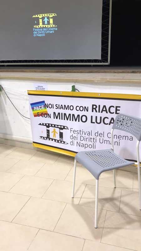 sedia vuota Lucano