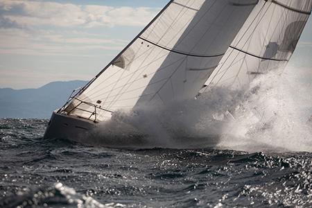 Campionato invernale vela d'altura del Golfo di Napoli Foto Antonella Panella