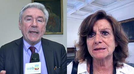 Enrico Panini e Simona Marino