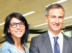 Francesca Brianza e Alessandro Fermi