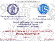 'Legge elettorale e classe dirigente, quali prospettive'