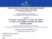 Il ruolo del Commercialista al fianco del MiBAC e di ALES per lo sviluppo territoriale del sistema culturale campano
