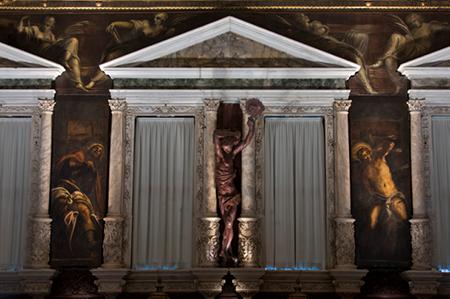 Tintoretto Scuola Grande di San Rocco - Sala Capitolare, Venezia