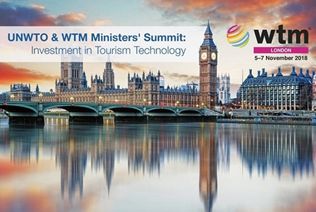 World Travel Market di Londra 2018