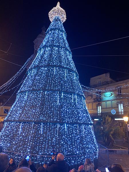 Albero di Natale Frattamaggiore (NA)
