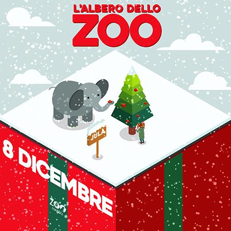 L'albero di Natale dello Zoo di Napoli