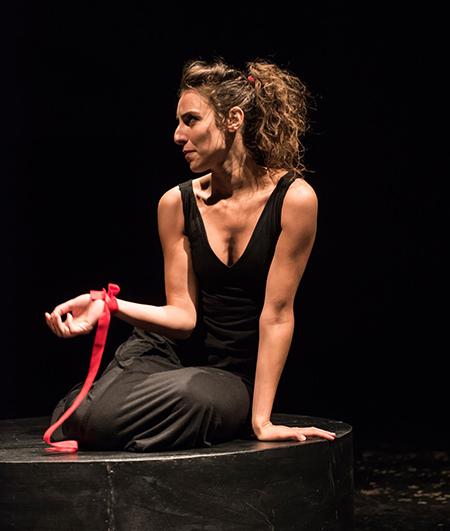 'Antigone. Monologo per donna sola'