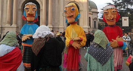 Befana alla Mostra d'Oltremare di Napoli
