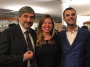 Carlo Molino, Alessandra Clemente e Daniele Cassioli
