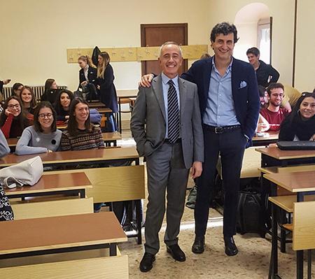 Ciro Sinatra e Alberto Albertini UNIBS