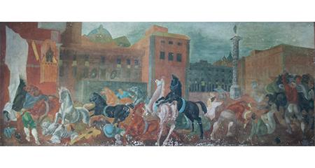 Corrado Cagli, 'La corsa dei Barberi'