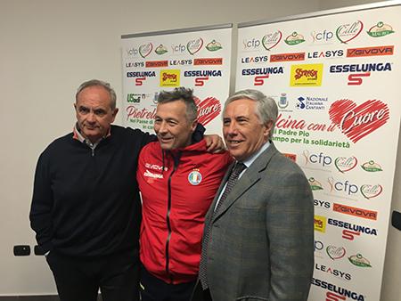 Costantino Boffa, Paolo Belli e Domenico Masone