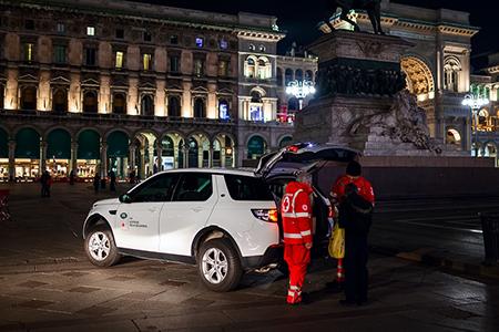 Croce Rossa Italiana e Land Rover Italia nel progetto 'Le strade della solidarietà'