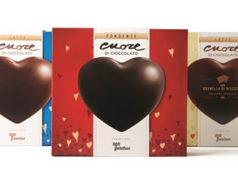 Cuore di cioccolato di Fondazione Telethon